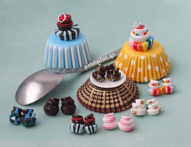 cakes set miniature