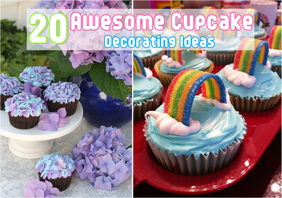28 best cupcake ideas decorating mothers day cupcake for Cupcake home decorations