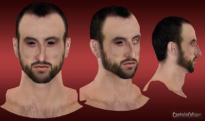 NBA 2K13 Manu Ginobili Cyberface Mod