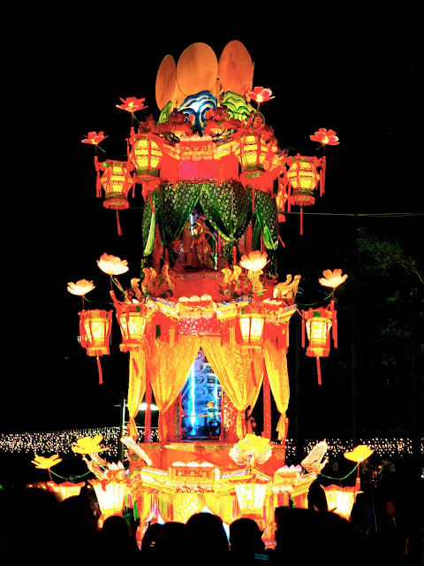 Chinese lantern display | Hong Kong Urban Mid-Autumn Festival in Victoria Park