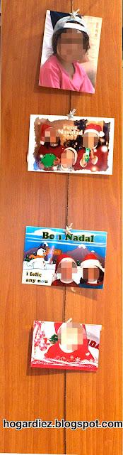 Fotos colgadas decorar hogar
