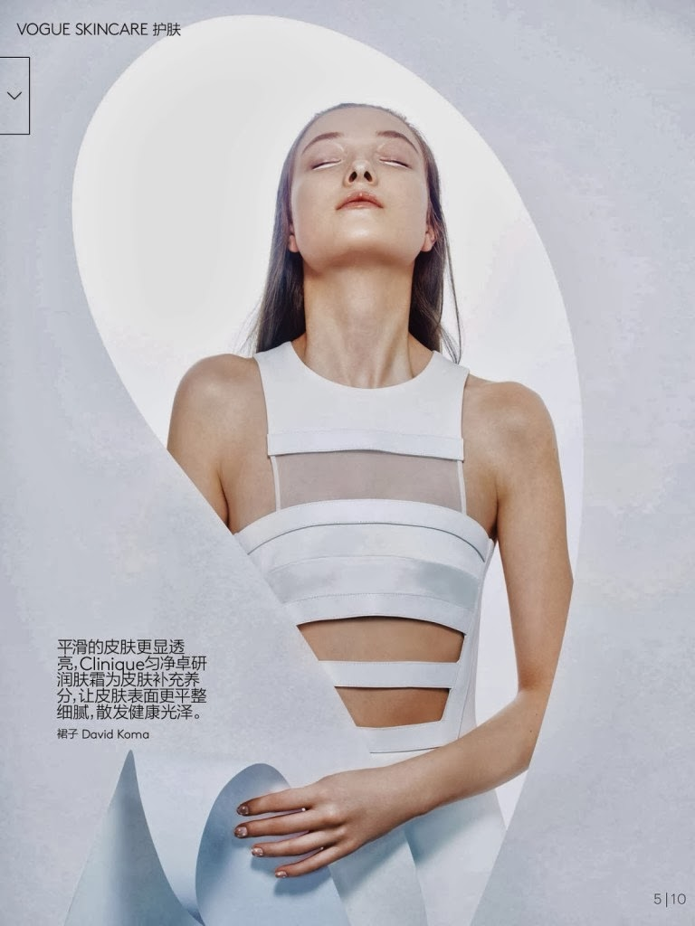 Yumi Lambert HQ Pictures Vogue China Magazine Photoshoot March 2014 By Sophie Delaporte