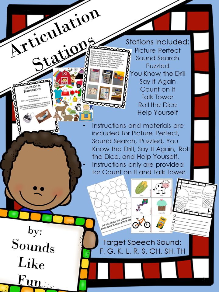 https://www.teacherspayteachers.com/Product/Articulation-Stations-Independent-Activities-for-Speech-Sound-Production-1230165