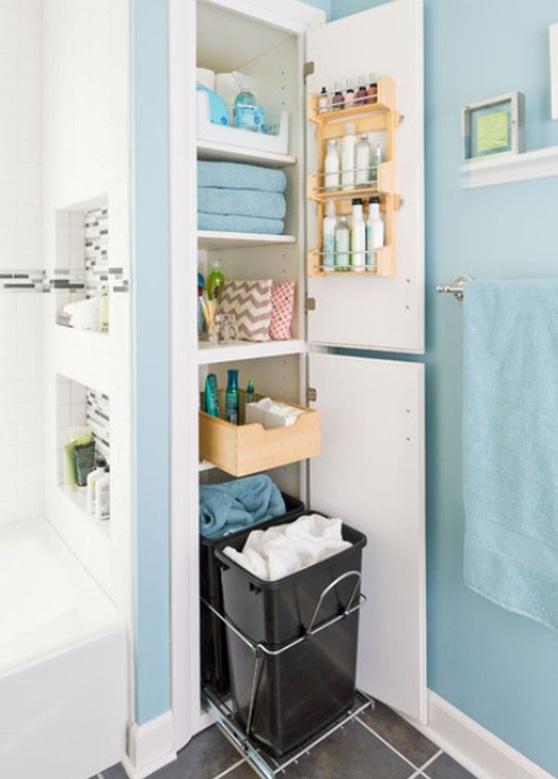 Neo arquitecturaymas: Estanterías para organizar el cuarto de baño