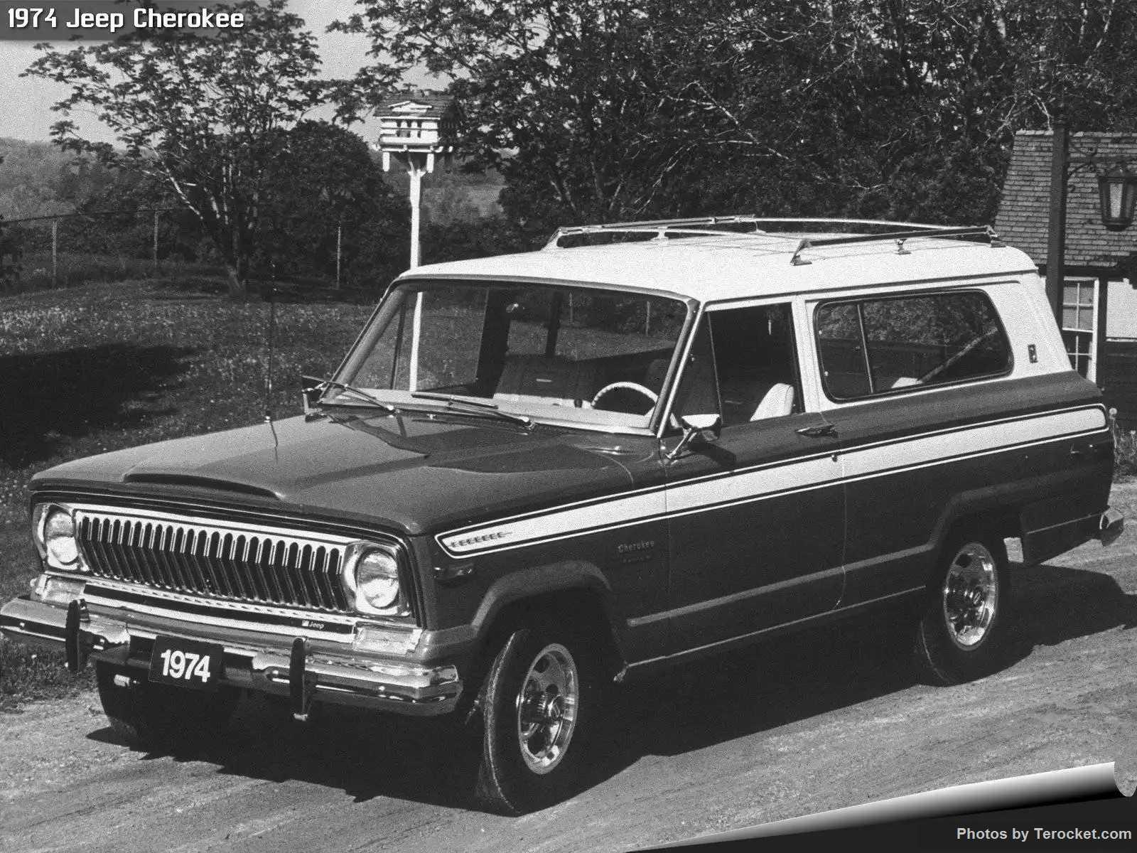 Hình ảnh xe ô tô Jeep Cherokee 1974 & nội ngoại thất