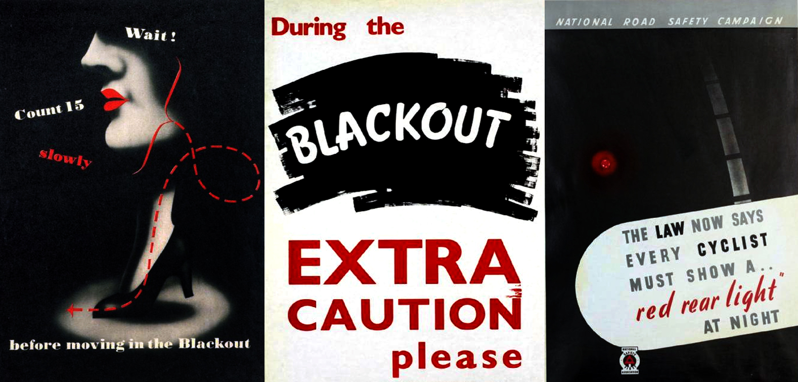 Blackout curtains ww2 -  Image Source