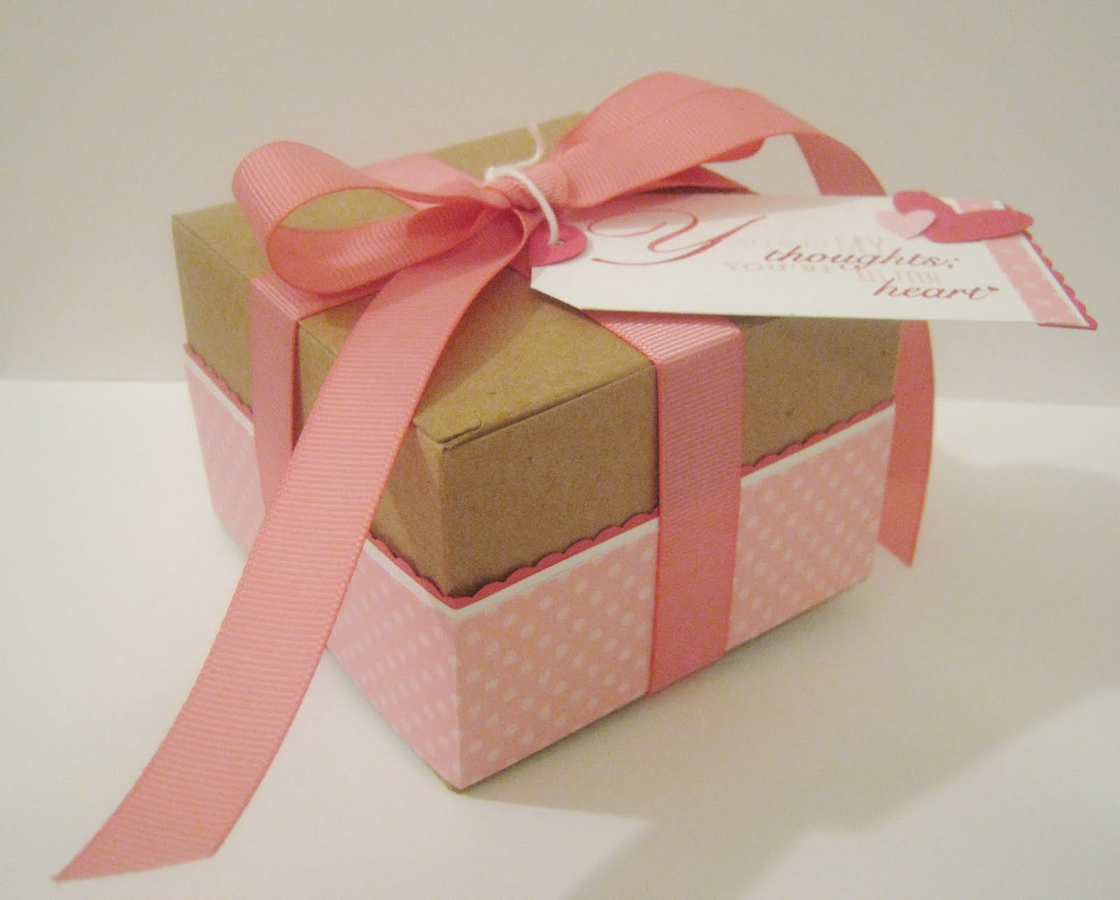 Stampin nat pink gift box for the paper players pink gift box for the paper players negle Images