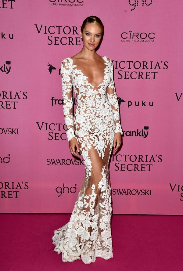 Candice Swanepoel la petrecera de lansare din Londra a colectiei Victoria Secret