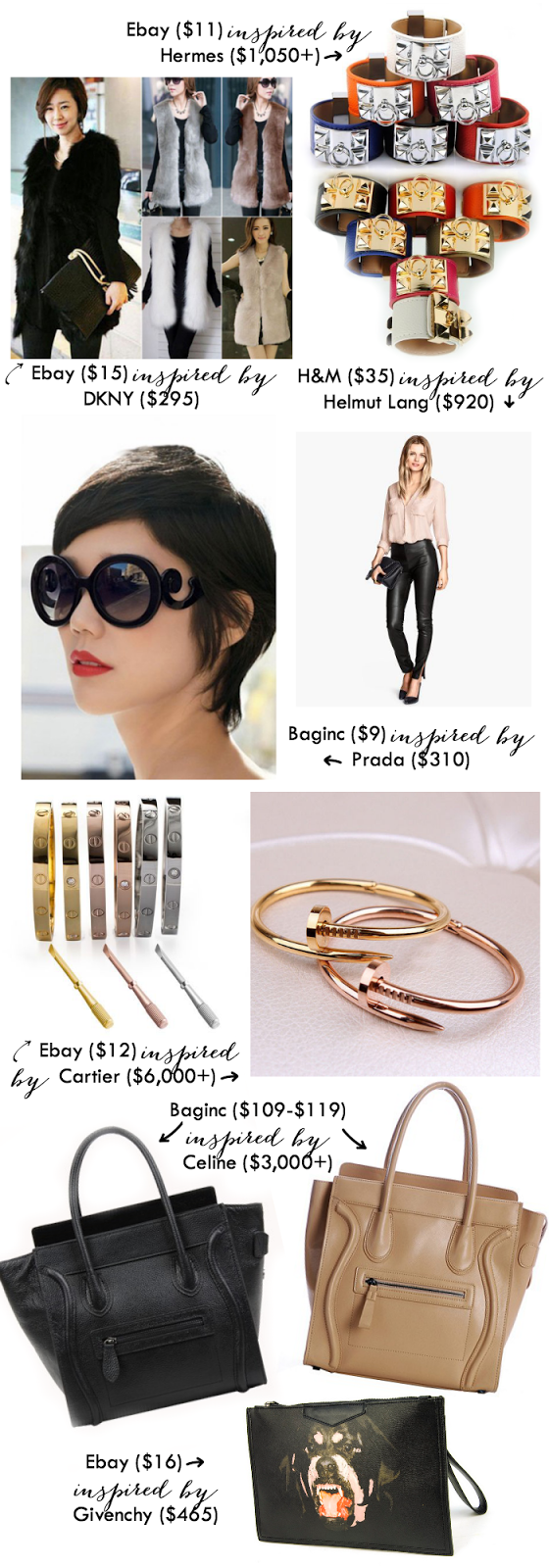 Real Vs. Steal :: High Fashion find for less than half the price!