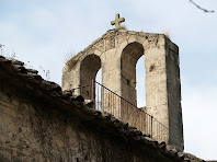 El campanar d'espadanya de Sant Genís Sadevesa