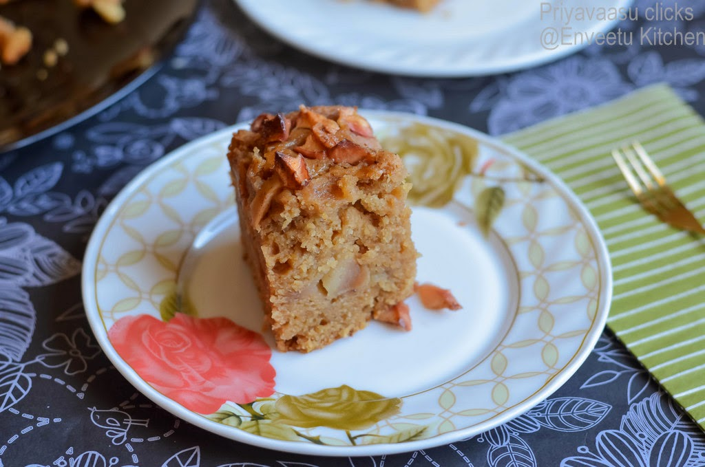 Eggless Cinnamom Bundt Cake