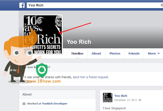 How i can change my facebook profile's photo on mobile