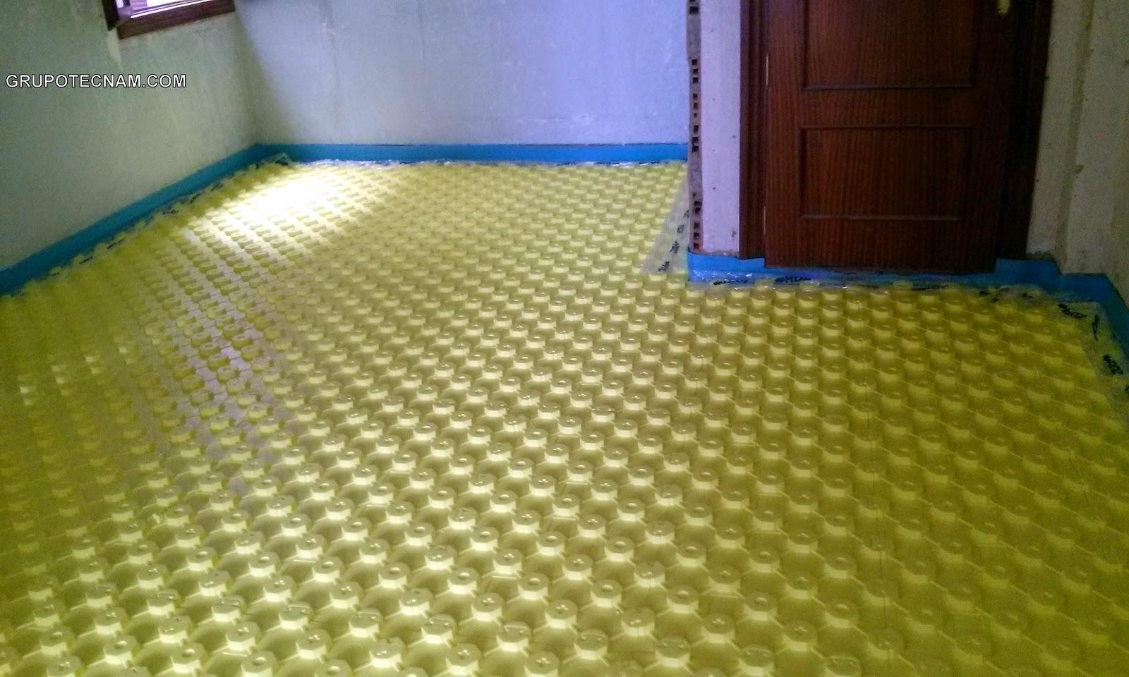Instalamos bienestar calefacci n por suelo radiante en - Calefaccion por hilo radiante ...