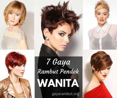 model rambut pendek wanita terbaru 2016 201478