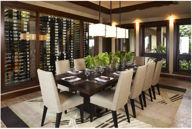 Asian dining room design ideas room design inspirations for Asian dining room