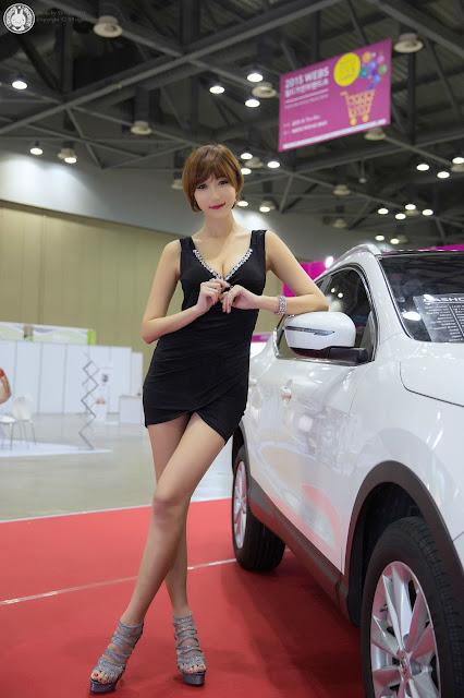 2 Yu Ji Ah - World Consumer Electronics Show - very cute asian girl-girlcute4u.blogspot.com
