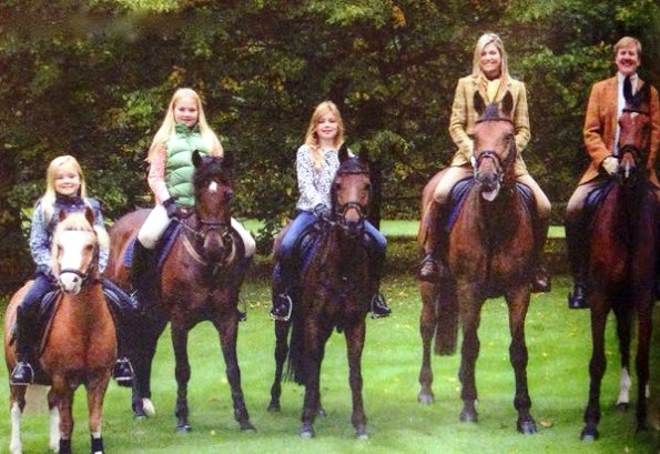 Dutch Royal Family's 2015 Christmas Card