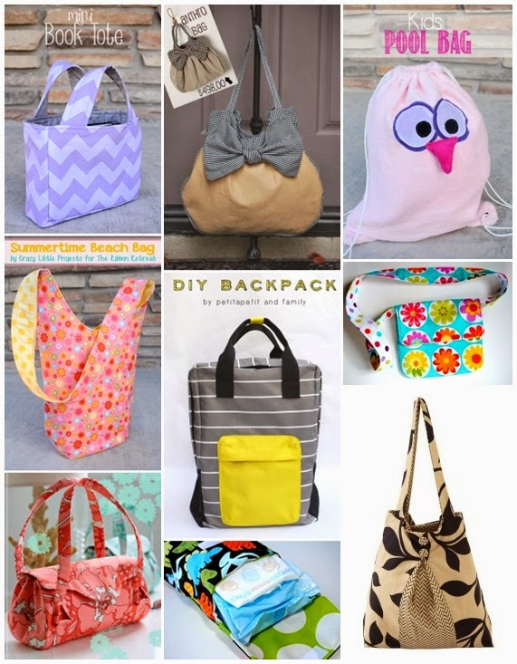 25 Bag Sewing Patterns