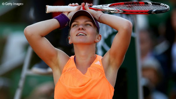 Simona Halep castiga la Roland Garros