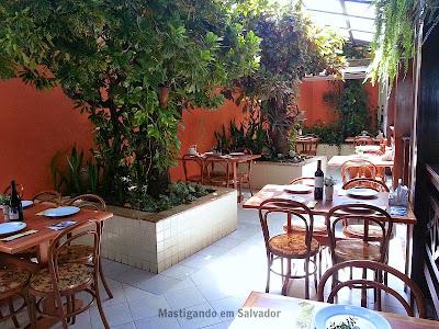 Restaurante Carro de Boi: Ambiente da loja da Boca do Rio