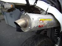Suzuki DRZ 400 SM Pro Circuit T4 Exhaust