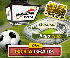 Goalunited, il browser game di calcio manageriale