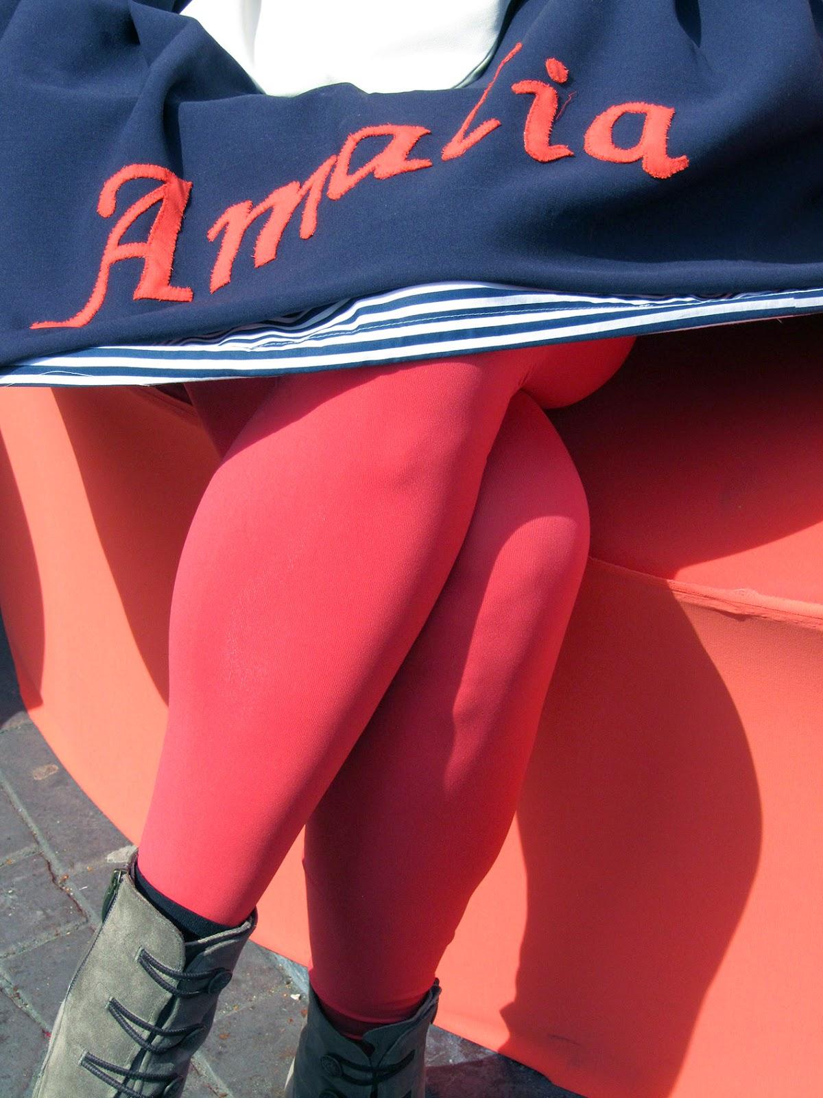 Amalia's legs