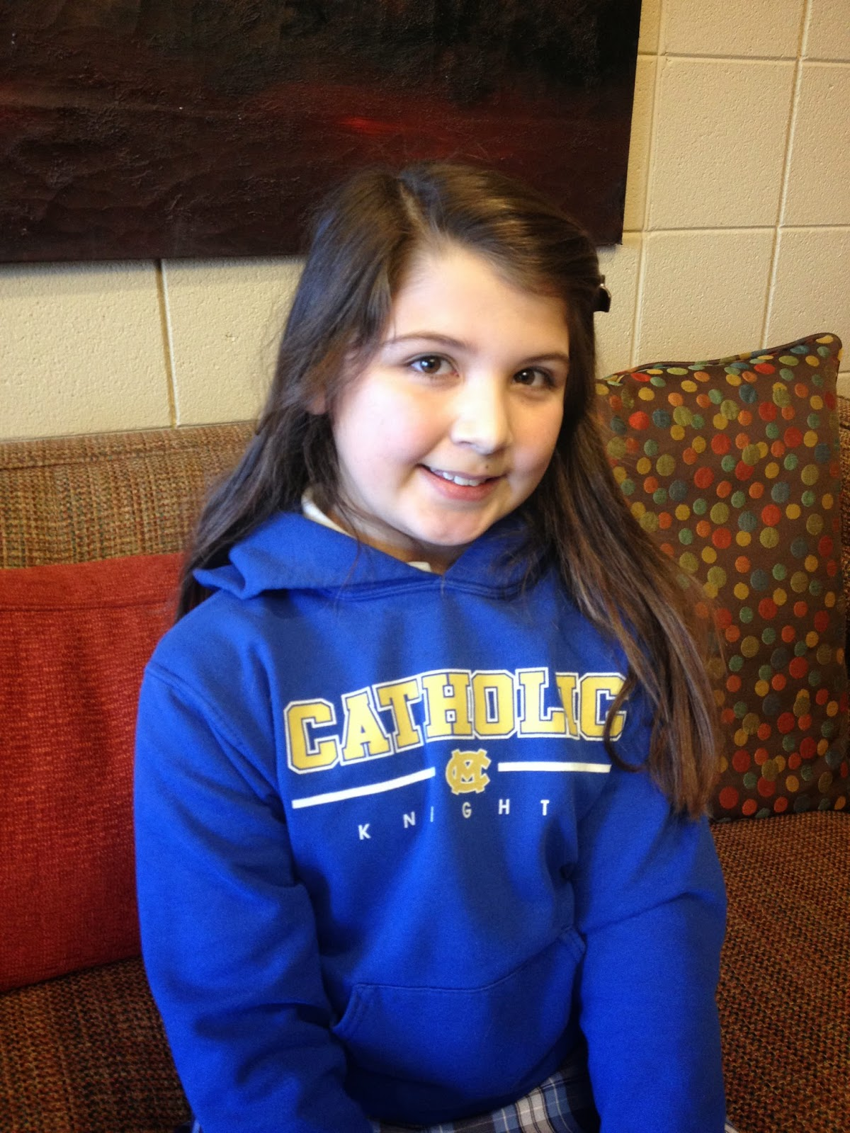 Montgomery Catholic Holy Spirit Campus Fourth Grade Student Wins Spelling Bee 1