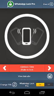 WhatsApp Lock Pro v2.1