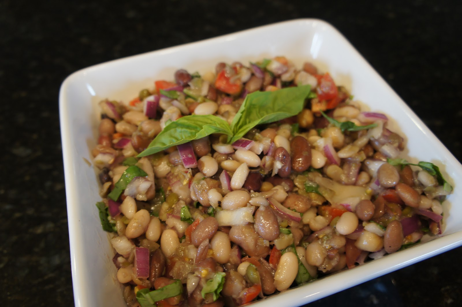 Simple Kitchen With Missy Maki 15 bean salad | mrs. maki cooks~the simple kitchen with missy maki