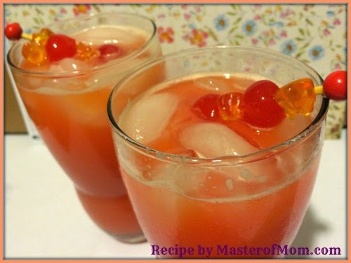 Easy mixed drink recipe with rum and orange juice