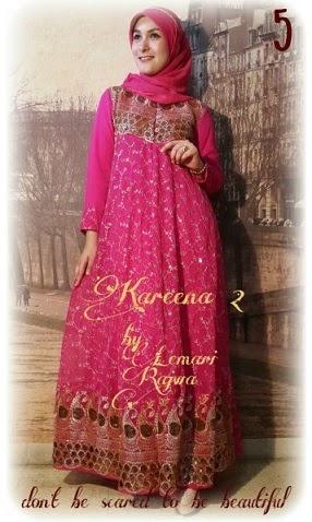 Gambar Baju Gamis Sari India