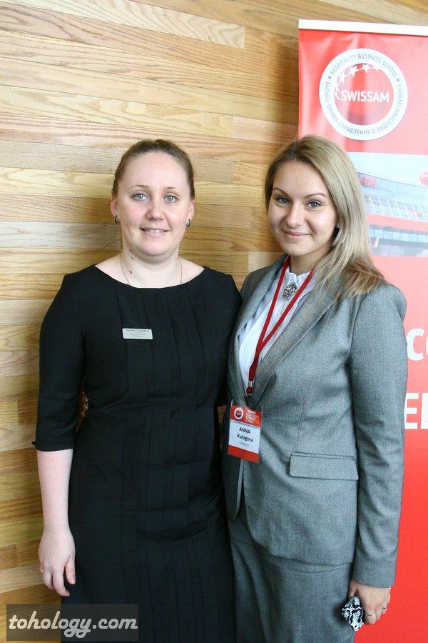 Анна Кисточкина (Sokos Hotels) и Анна Кулагина (SWISSAM)