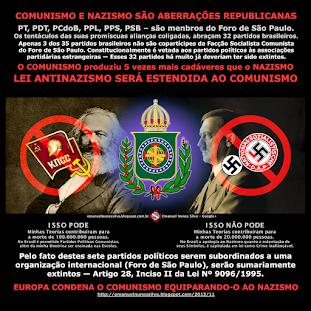 EUROPA CONDENA O COMUNISTA EQUIPARANDO-O AO NAZISMO