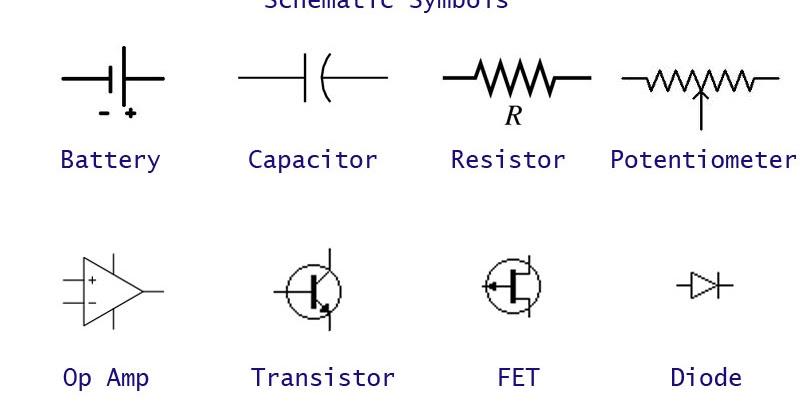 capacitor symbol schematic to breadboard capacitor symbol