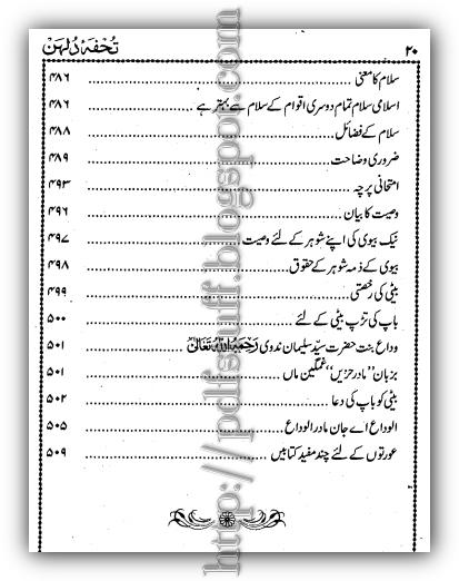 tuhfa-e-Dulhan
