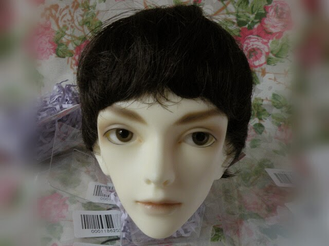 Synthetic Hair Wefts Doll 52