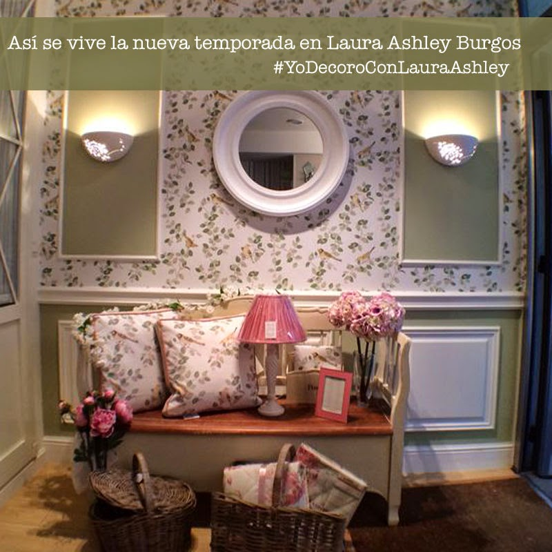 Decoración Laura Ashley - Tienda Burgos