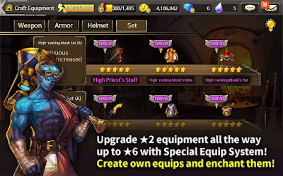 Demigod War v1.3.1 Mod Apk High Damage