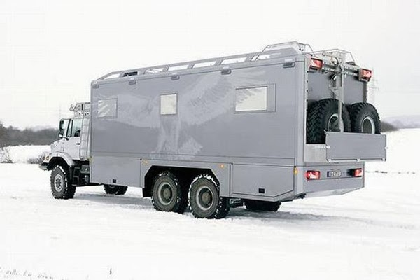 Basically, everything you could ever want is included in this mobile safehouse. - This Is What You Want During A Doomsday Scenario. Just Wait Til You See The Inside… OMG.