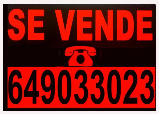Fotocopias baratas carteles se vende se alquila baratos for Se alquila plaza de garaje
