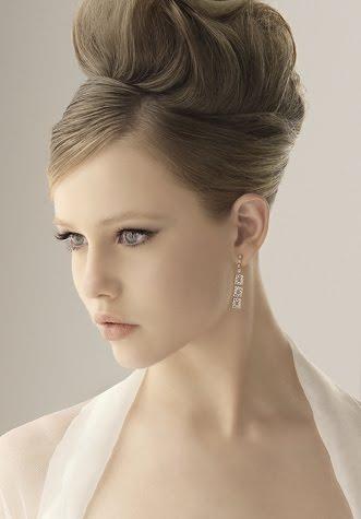 Peinados y mas peinados peinados elegantes updo 2012 for Recogidos altos para novias