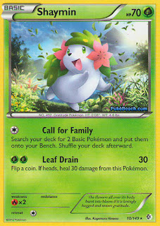Shaymin Boundaries Crossed Pokemon Card