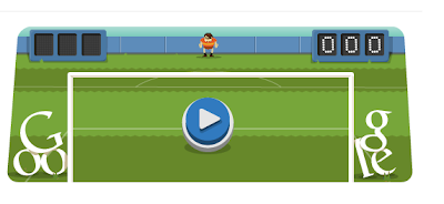 Google soccer & football doodle play