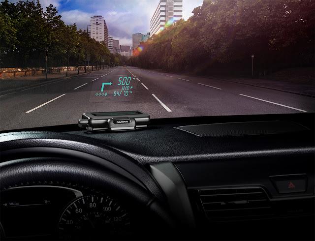 Garmin HUD Brings Head-Up Display to Any Car