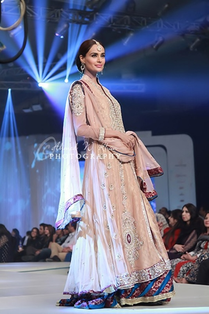 Asifa And Nabeel Latest Bridal Collection 2013 2014 Asifa Nabeel At Pantene Bridal Couture