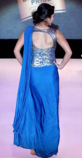 Sania Mirza walked the ramp for Shantanu and Nikhil at the Blenders Pride Fashion Tour 2012.