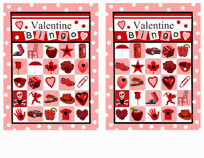Valentine's Day Bingo For Preschoolers 5