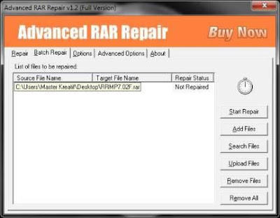 Advanced RAR Repair Crack