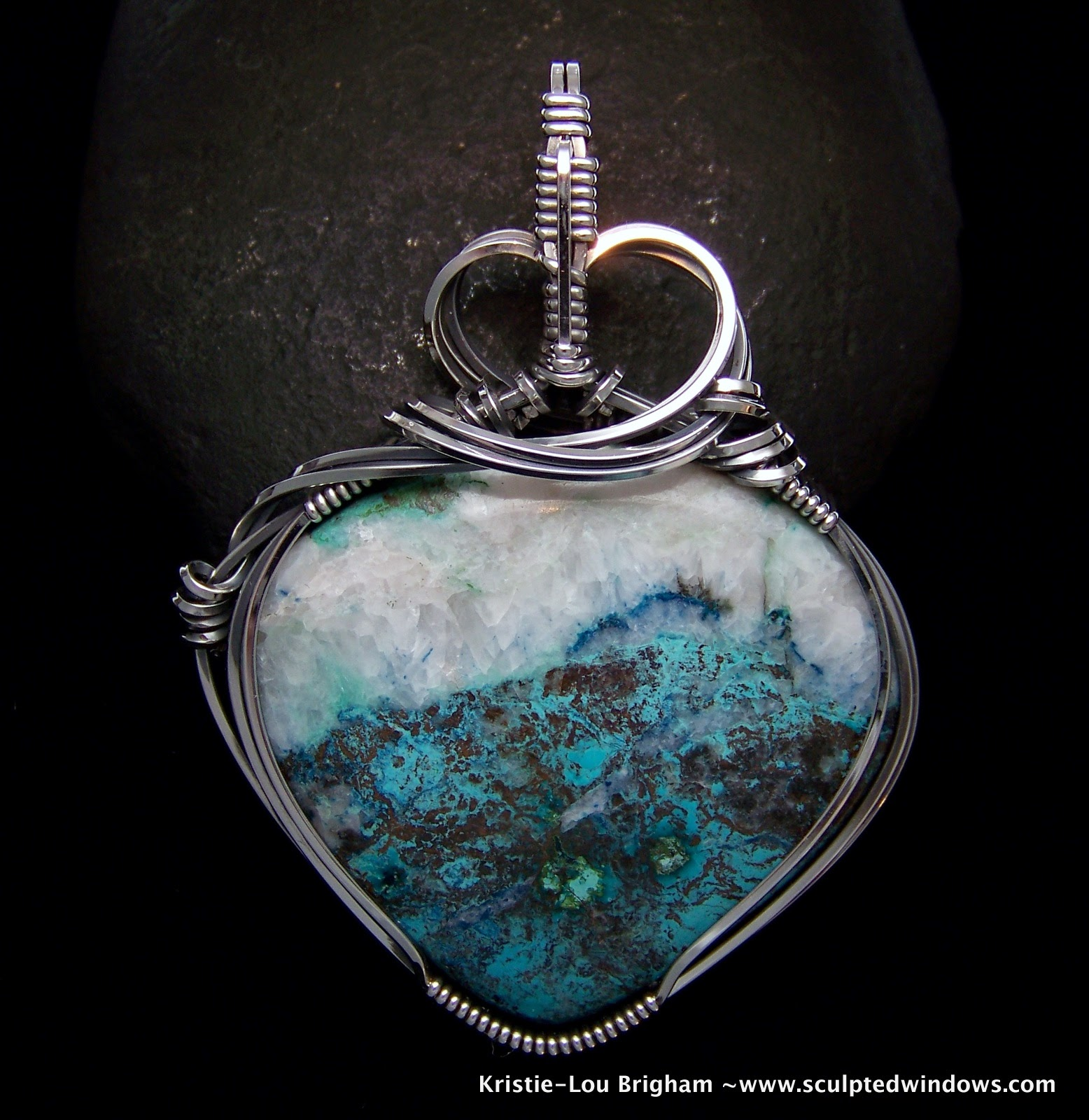 Nice How To Wrap Stones With Wire For Jewelry Pictures - The Wire ...